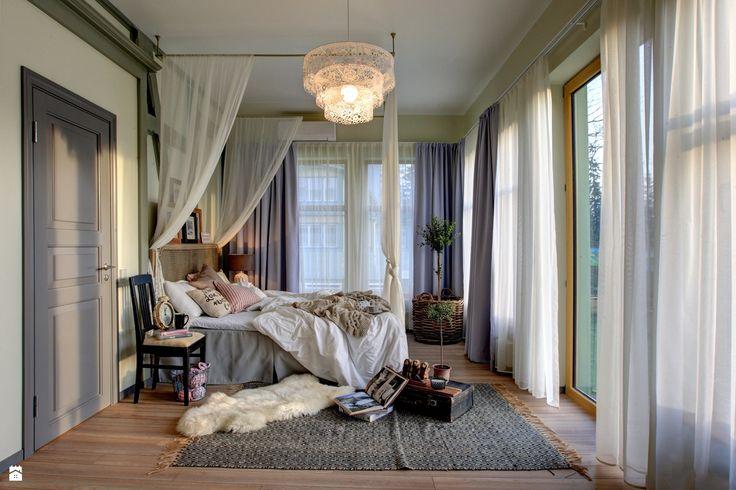 Letnia aranżacja sypialni Wendre - zdjęcie od WENDRE - Sypialnia - Styl Eklektyczny - WENDRE