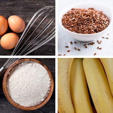 Przepis na chlebek bananowy z siemieniem lnianym