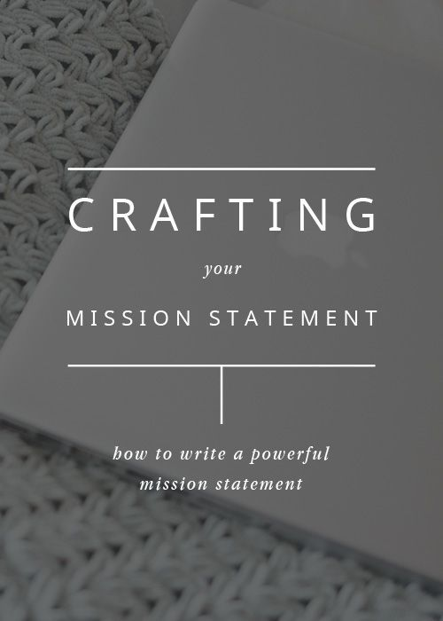 An important part of the brand development process is writing out an intentional mission statement to guide your business. A lot of people skip this step simply because they don't know what to write, but chances are you already know what your mission is - you just need to put it into words.