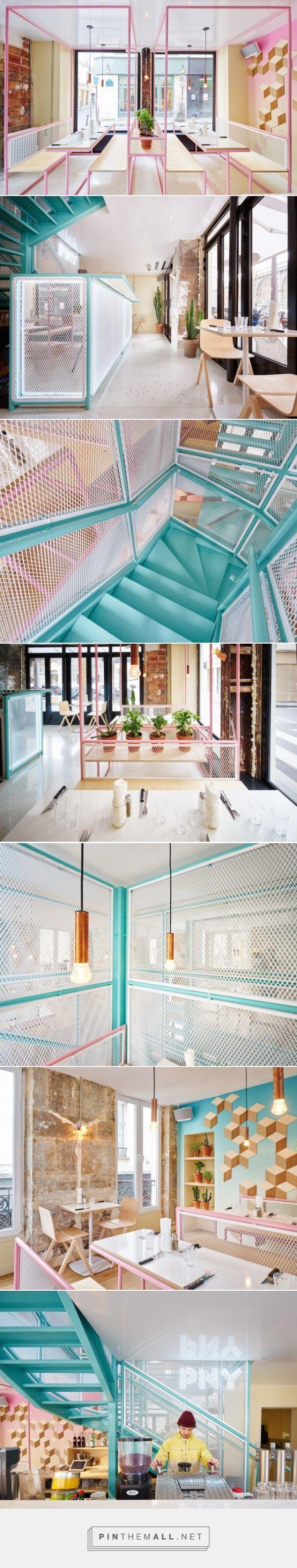 New PNY Restaurant in Paris – Fubiz™ - created via http://pinthemall.net