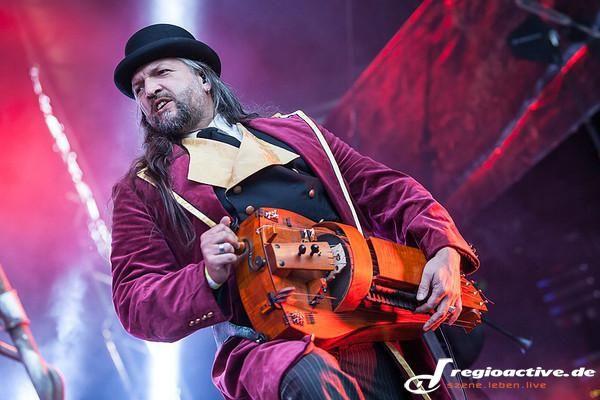 Saltatio Mortis (live auf dem Hexentanz-Festival, 2014)
