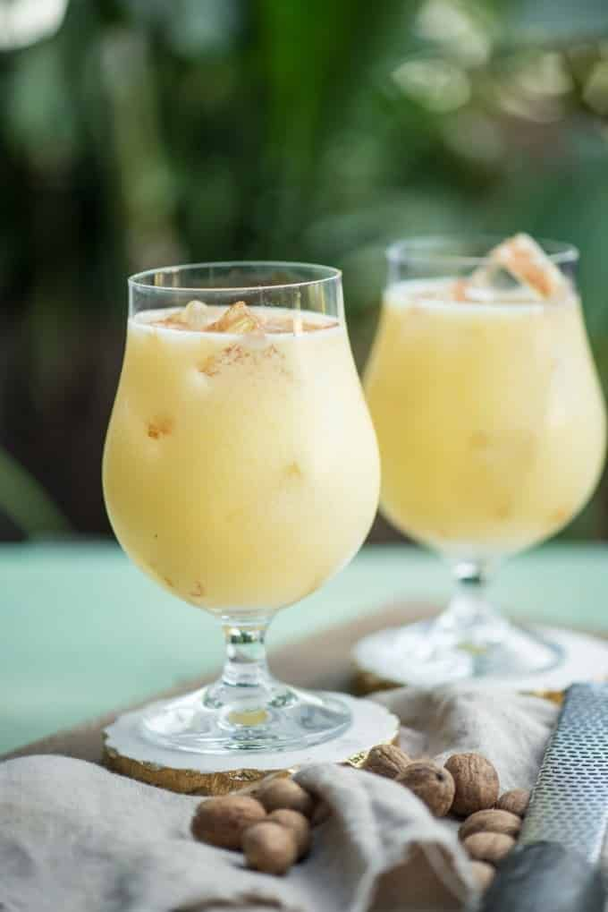 If you're looking for a great warm weather cocktail, make this Painkiller Drink! Coconut, pineapple, rum, and orange- what's not to love?