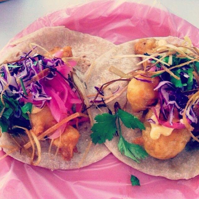 Fish tacos in playa #fish #tacos #camaron #pescado #mexico #mexicanfood #playadelcarmen #rivieramaya