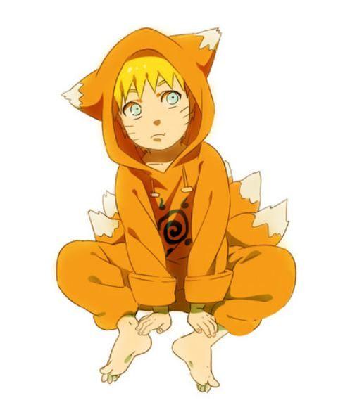 Uzumaki Naruto, young, childhood, different ages, time ...  |Laguh Naruto Uzumaki Cute