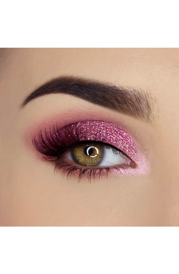Pretty Rich Diamond Light Eyeshadow Palette Makeup Inspiration