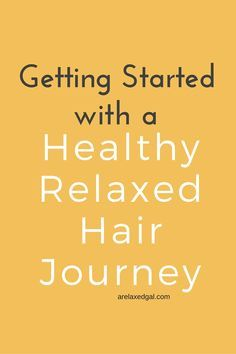 Relaxed hair can be healthy! All it takes is a strong regimen that addresses the needs of your hair. See how I started my healthy relaxed hair journey. | arelaxedgal.com
