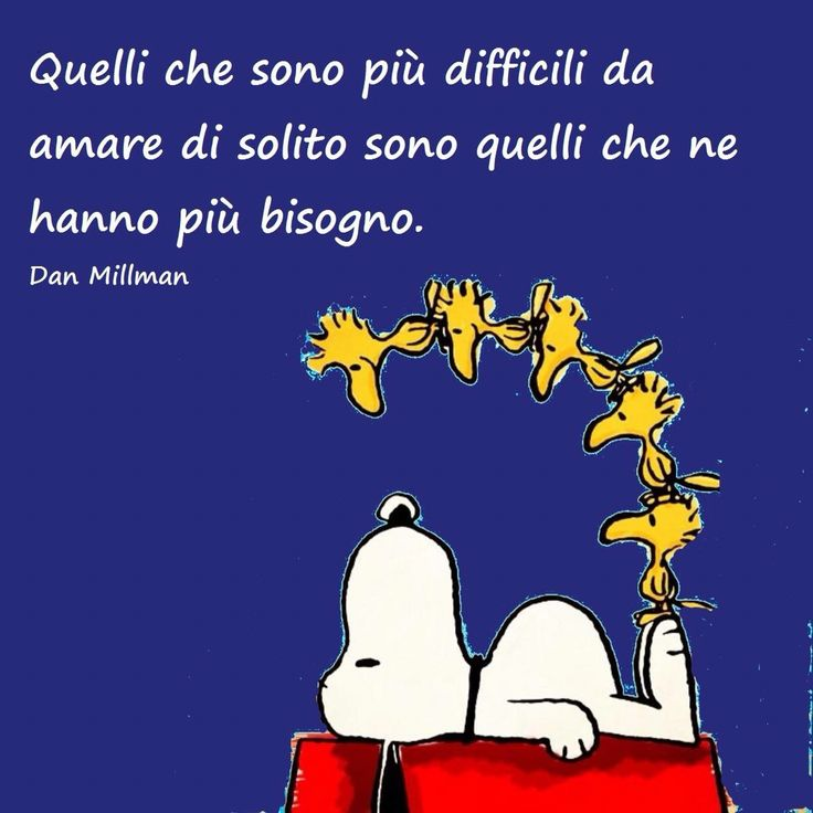 Per questo la lungimiranza di Snoopy è proverbiale ........................For this vision to Snoopy is proverbial