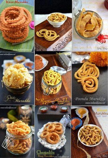 Easy Murukku recipes for Diwali.  Murukulu, Chakli, chakuli, chakralu, jantikalu recipe like mullu murukku, garlic murukku, kara murukku, moong dal murukku, pepper murukku etc