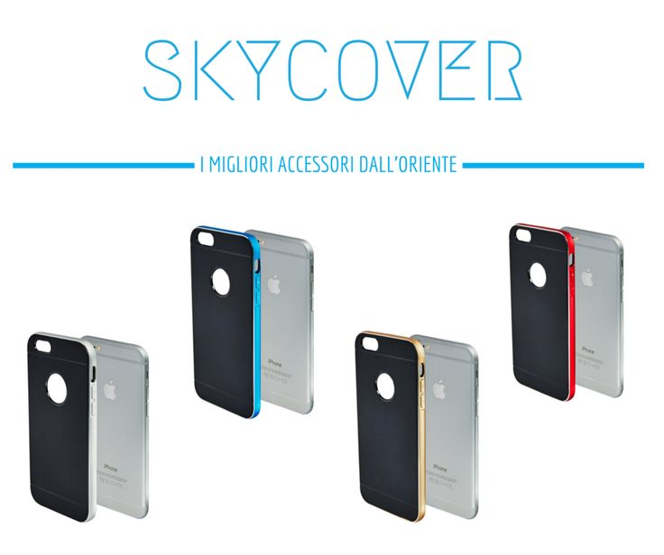 SKYCOVER product - cover for iPhone 6 and iPhone 6 plus only on http://www.ebay.it/usr/skycover2015