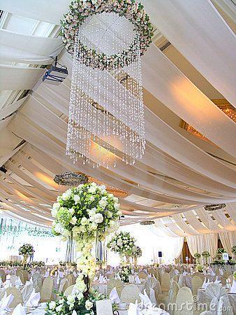 Configuration de luxe de table de mariage
