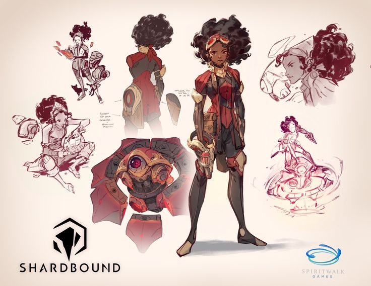 Concepts created for Spiritwalk Games' Shardbound- recently announced at TwitchCon 2016! www.shardbound.com