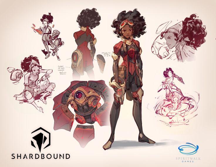 Concepts created for Spiritwalk Games' Shardbound- recently announced at TwitchCon 2016! www.shardbound.com