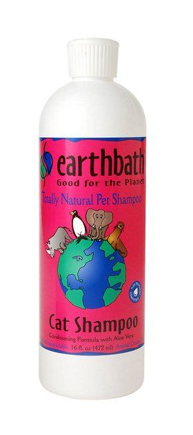 Like a five-year-old kid after a day in the sandbox, you can't always leave self-grooming up to your cat. Sure, they like to lick, but they need a little help to become extra cuddle-able. Earthbath 2-in-1 Cat Shampoo contains all-natural ingredients like oatmeal, aloe, and vitamin E that nourish the skin and keep your feline friend feeling—and smelling—her absolute best.