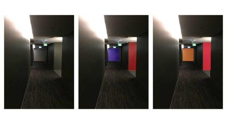 Colour insight was provided to the East Hotel, Canberra. While the key public areas were vibrant and engaging, the lift lobbies and corridors lacked colour. Colour options were provided to improve wayfinding and aesthetics. 2015