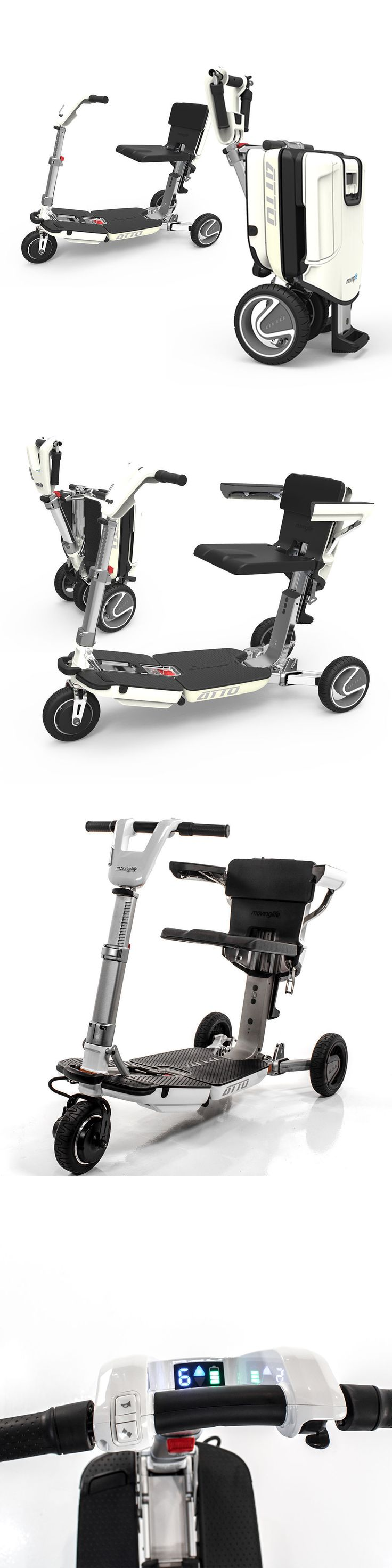 Mobility Scooters: New Atto Compact Deluxe Folding Lightweight Mobility Scooter Moving Life Vehicle -> BUY IT NOW ONLY: $3495 on eBay!