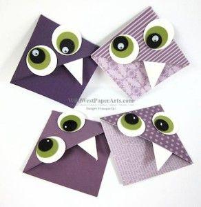 Purple Monster Bookmarks