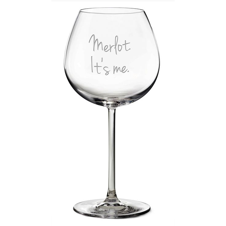 Adele 'Hello' wine glass