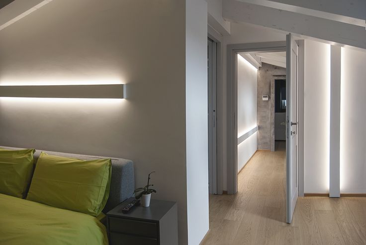 Fylo - linear profile by Tràddel collection  lighting architecture  #home #interiors #LED #lighting #design #bedroom