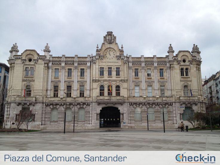 Ayuntamiento de Santander nel Santander, Cantabria