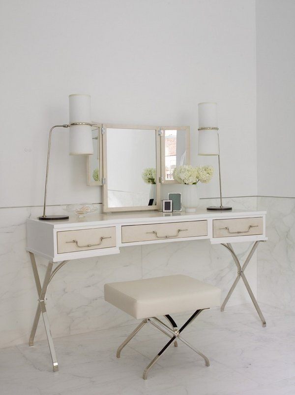 Contemporary Home Furniture Elegant Dressing Table Modern Table Lamps