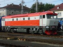 Dieselová lokomotiva – Wikipedie