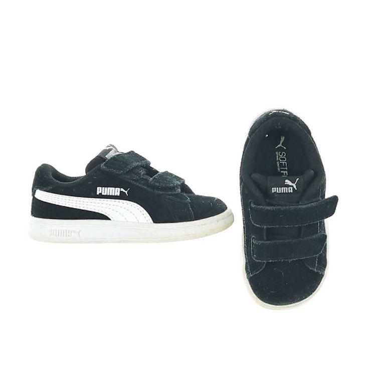 Baskets noir - occasion - Puma - mixte - enfant pointure 22 en ...