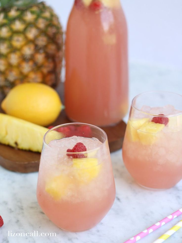 With only 4 ingredients this pink party punch recipe is so easy and is perfect for brunches, showers or really any occasion.