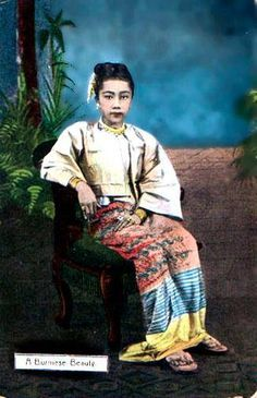 Burmese Girls -1880's | B u r m e s e | Pinterest | Lady, The o ...