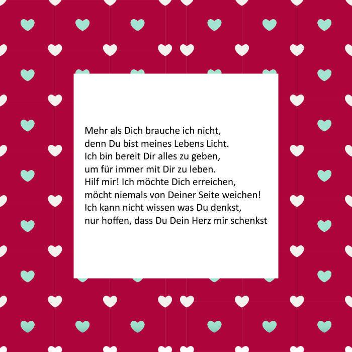 Valentinstagsgedichte Schöne Liebessprüche Valentinstagsgeschenke