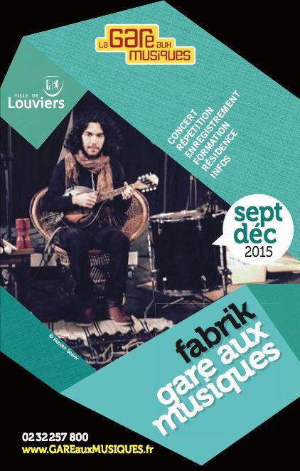 C'est la rentrée de la Gare aux Musiques de #Louviers, demandez le programme !