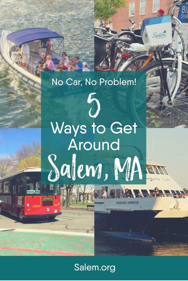 No car, no problem! 5 ways to get around Salem, MA without a
