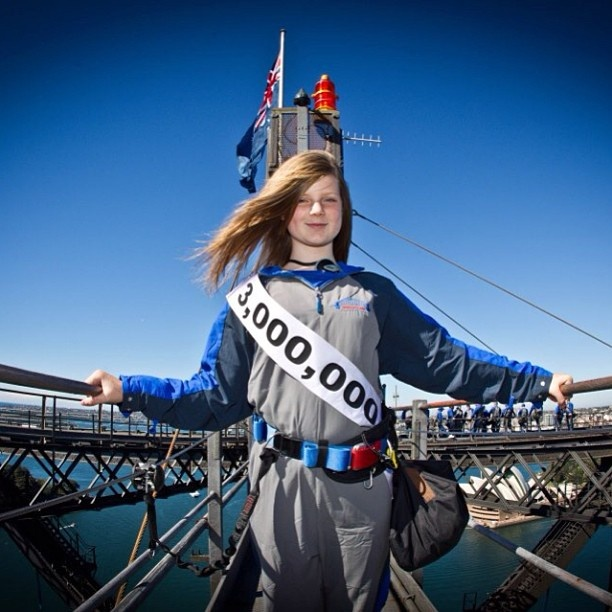 Meet Caitlin McWilliams, the 3 Millionth Climber! Caitlin, from Wellington NZ, climbed with her family during her school holidays.