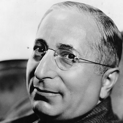 Louis B Mayer, a film producer that built MGM into the most financially successful motion picture studio in the world. Mayer became head of production as well as studio chief. He became the first person in American history to earn a million dollar salary. He was the highest paid man in the United States.