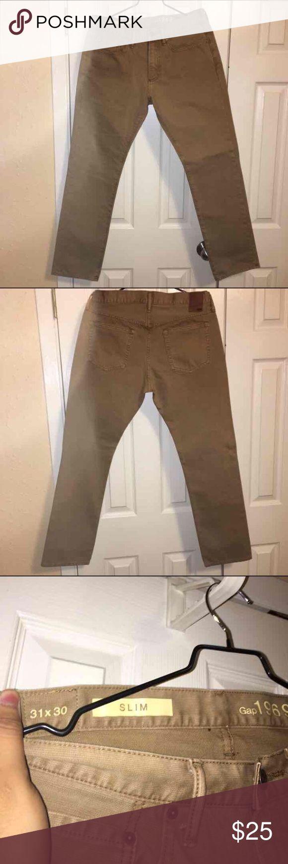 NWOT Gap Slim Fit Khaki Pants 31X30 NWOT High quality, heavyweight material. GAP Pants Chinos & Khakis