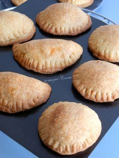 Esta masa de empanadillas está de muerte. Pruebenlas y si tienen un ratito visiten el blog de esta asturiana, tiene recetas fabulosas.