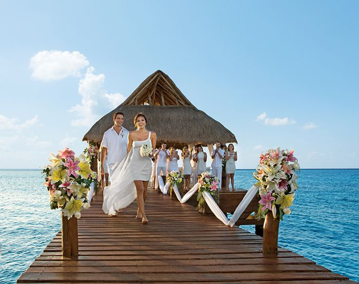 Dreaming Of A Destination Wedding Be Inspired By The Luxurious Packages At All New Secrets Playa Mujeres Golf Spa Resort In Mexico