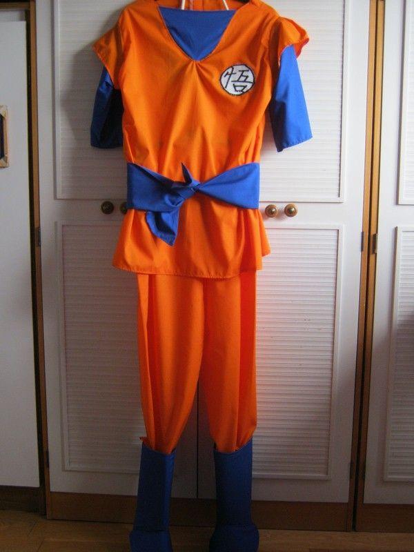 How to make an chracter costume. Dragon Ball Z Goku Costume - Step 6