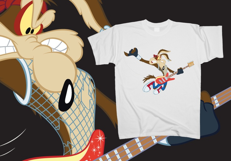 Coyote - On stage  http://www.toonshirts.com/products/looney-tunes/142-coyote-on-stage