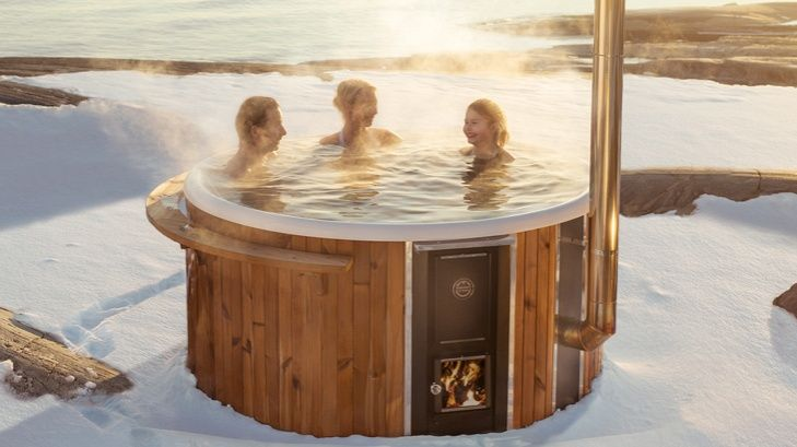 skargards hot tubs pflegeleichter holzbheizter. Black Bedroom Furniture Sets. Home Design Ideas