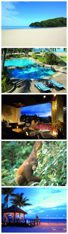 Shangri-La Rasa Ria Resort - luxury honeymoon hotel in Borneo