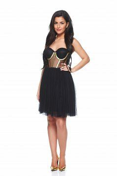 Rochie Ana Radu Golden Air Black