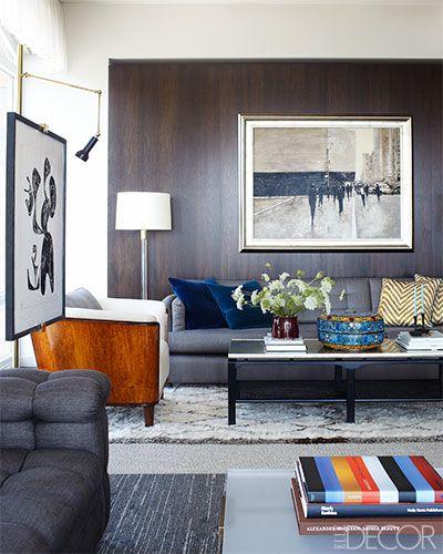 NASCAR's Jimmie Johnson's New York Apartment - Downtown Manhattan Apartment Design - ELLE DECOR