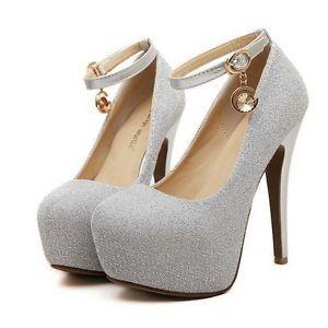 zapatos de tacon de moda con brillos - Buscar con Google