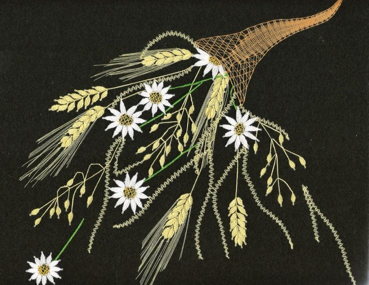 Rohy hojnosti - léto(26 cm x  20 cm)