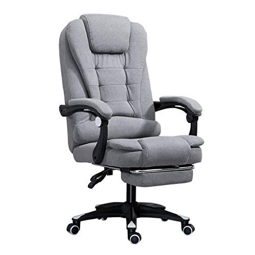 Ergonomic Office Desk Chair With Armrest And Footrest High Back
