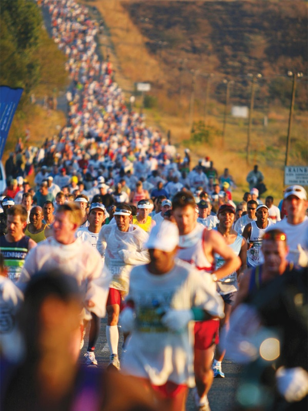 2013 Comrades Marathon - Arguably the greatest ultra marathon in the world where athletes come from all over the world to combine muscle and sinew and mental strength to conquer the approx 90 kilometres between the cities of Pietermaritzburg and Durban, the event owes its beginnings to the vision of one man, World War I veteran Vic Clapham.