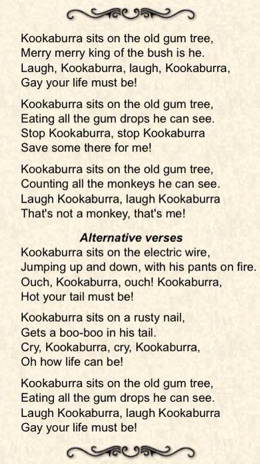 The Kookaburra Song