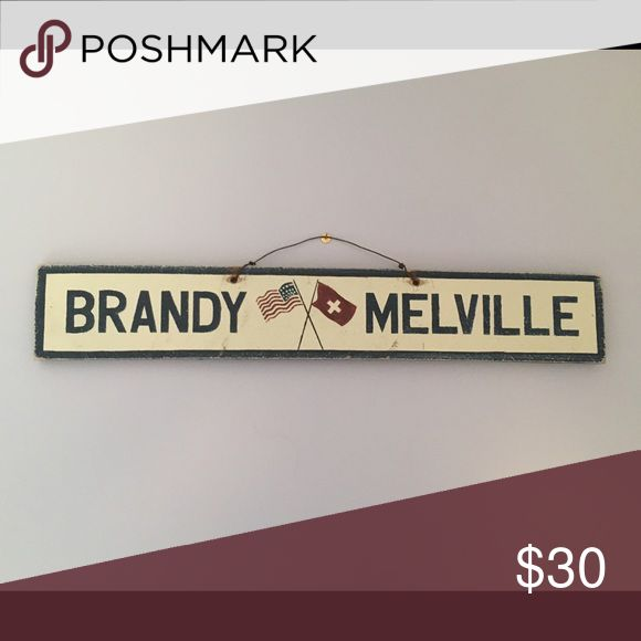 Sign from Brandy Melville Sign sold in the store Brandy Melville Other