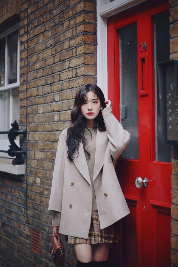 23cb87445699ec milkcocoa(MT) daily 2018 feminine & classy look #winterkoreanfashion ...