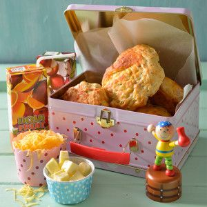 Giant Cheese and Ham Scones #Kids #Lunchbox #SouthAfrica
